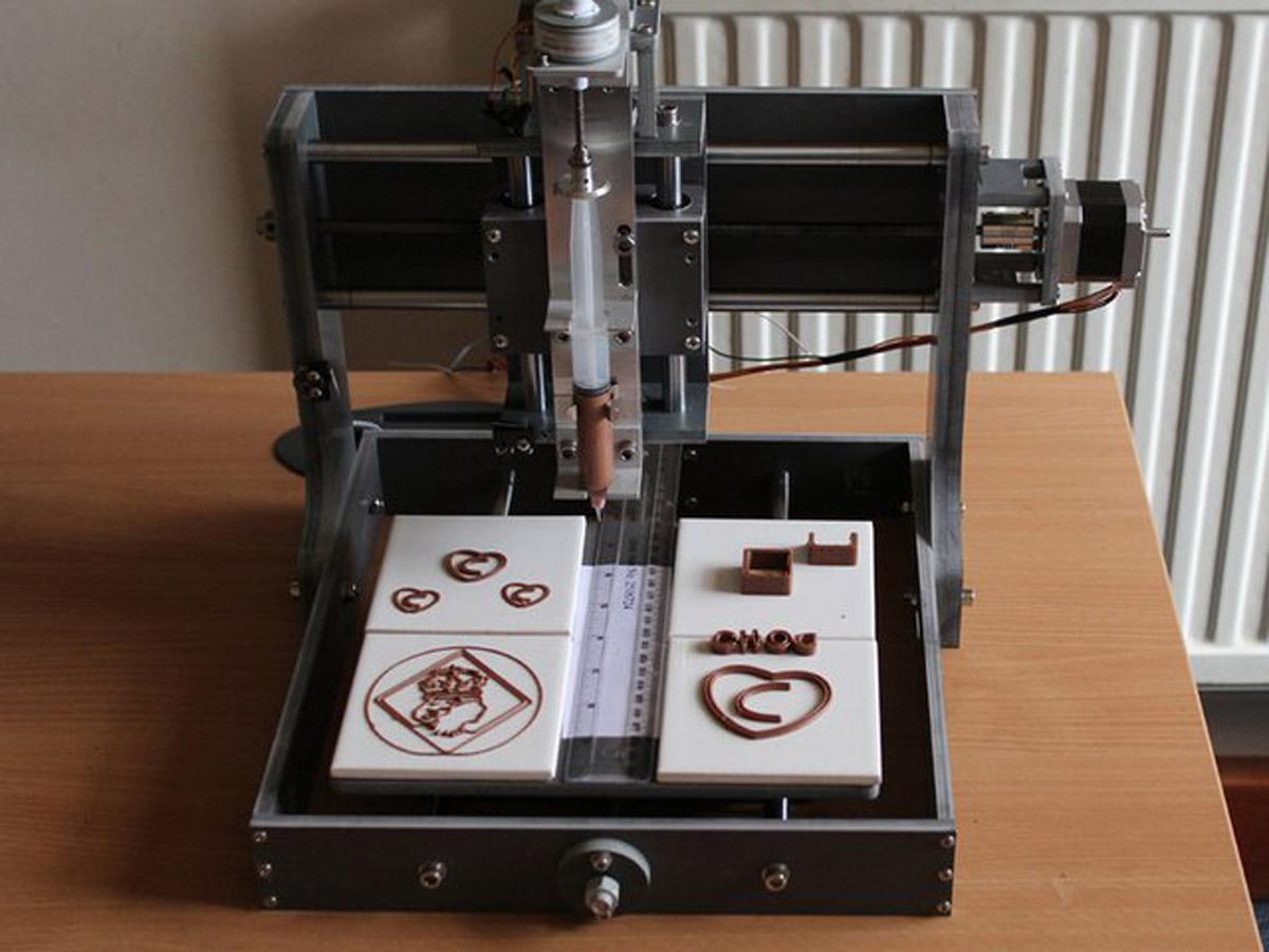 Кофе принтер своими руками